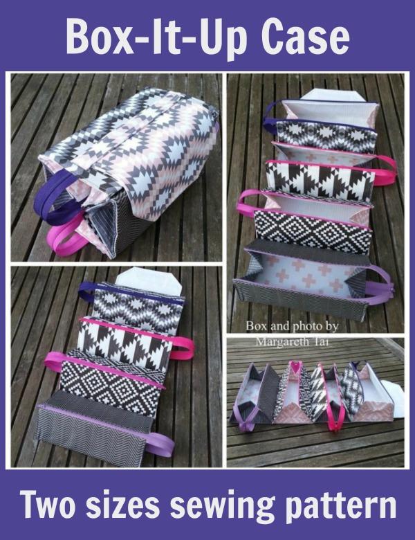 Box-It-Up Case (2 sizes) sewing pattern