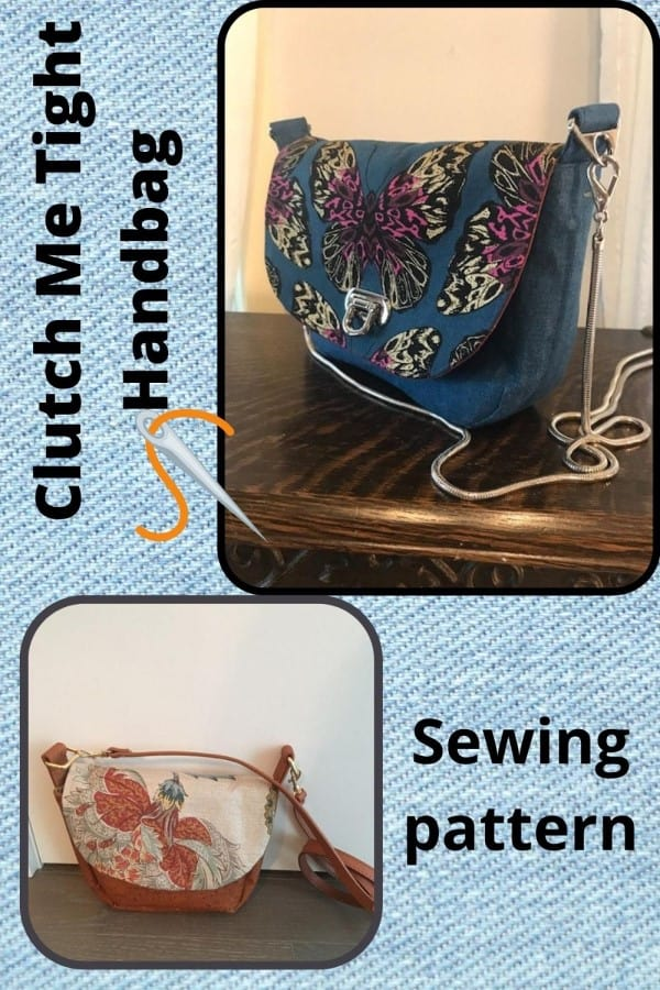 Clutch Me Tight Handbag sewing pattern