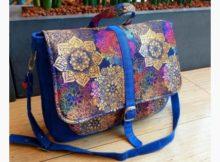 Lila Convertible Messenger Bag sewing pattern