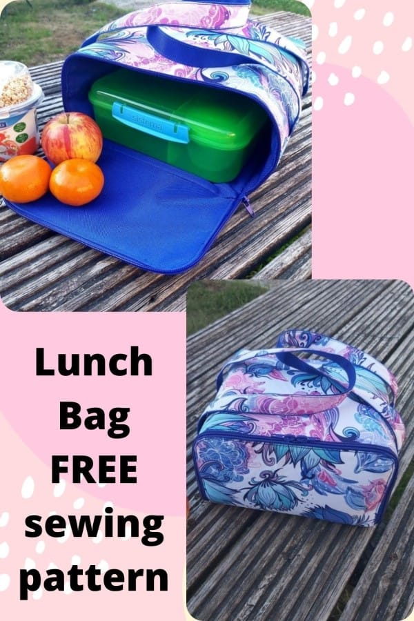 Lunch Bag FREE sewing pattern