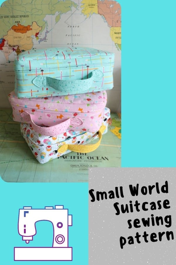 Small World Suitcase sewing pattern