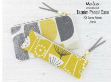 Tasnim Pencil Case (2 sizes) sewing pattern