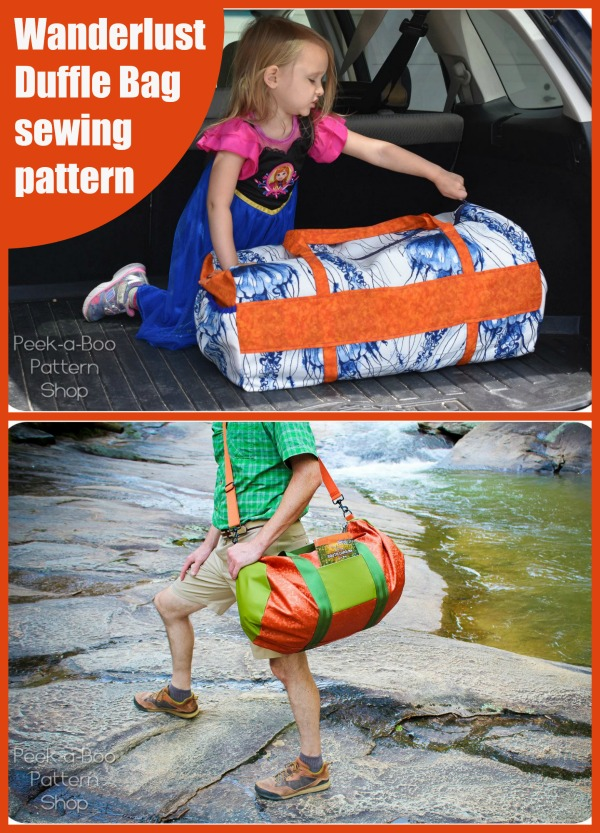 Wanderlust Duffle Bag pattern