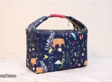 DIY Insulated Lunch Bag FREE sewing pattern (with video)