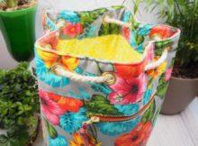 Florida Beach Bag sewing pattern