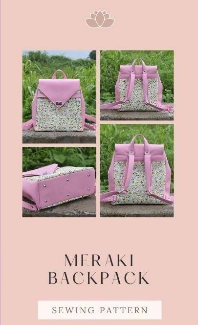 Meraki Backpack sewing pattern