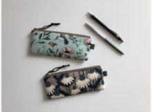 Slim Pencil Case FREE video sewing tutorial