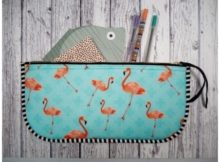 Super Easy Pencil Case FREE sewing pattern