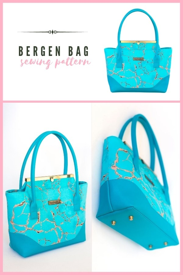 Sewing pattern for the Bergen Bag