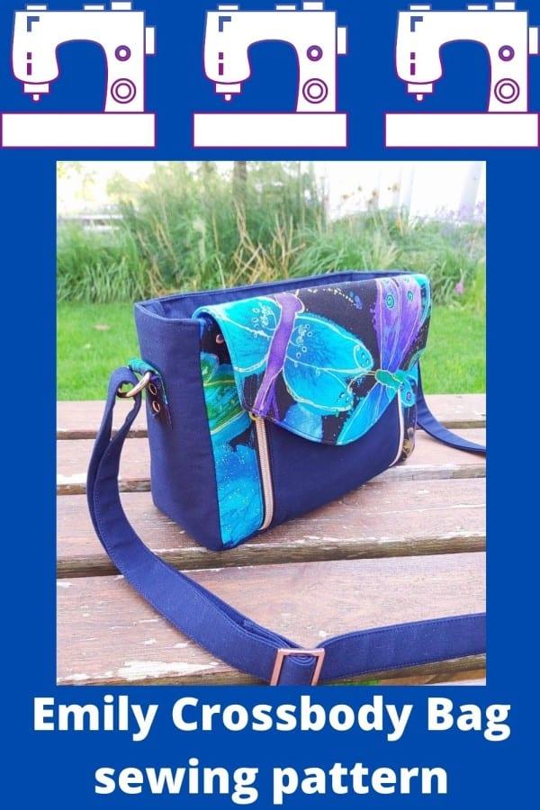 Emily Crossbody Bag sewing pattern