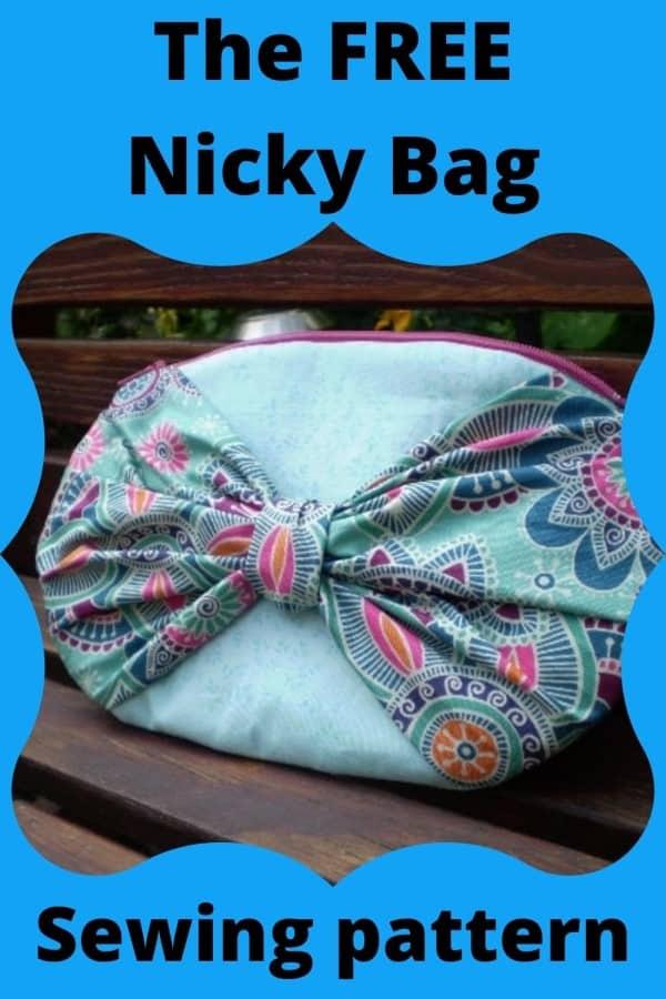 Nicky Bag FREE sewing pattern