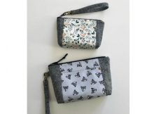 Norfolk Pouch sewing pattern (2 sizes)