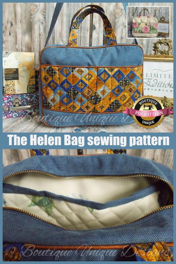 The Helen Bag sewing pattern