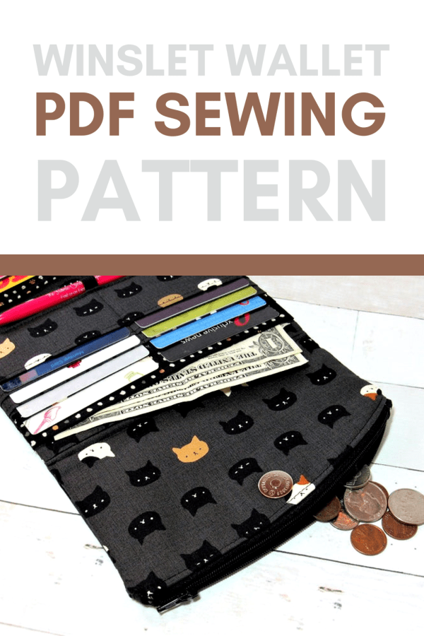 Winslet Wallet sewing pattern (with videos)