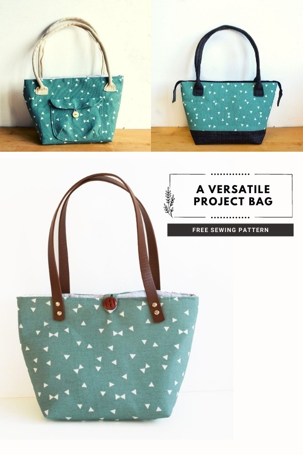 A Versatile Project Bag FREE sewing pattern