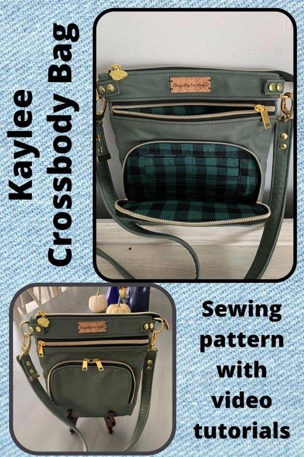 Kaylee Crossbody Bag sewing pattern