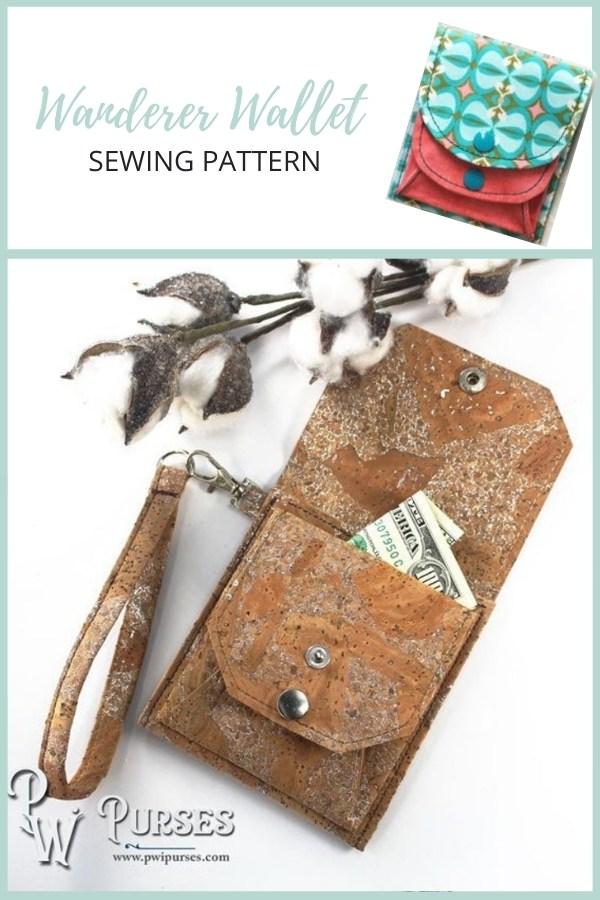 Wanderer Wallet sewing pattern