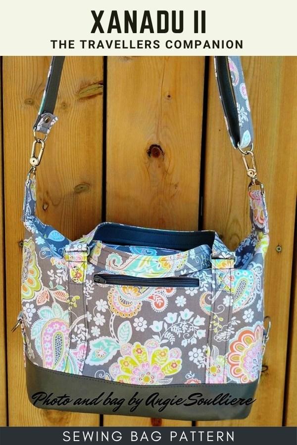 Xanadu II - The Travellers Companion - bag sewing pattern