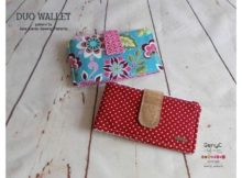 Duo Wallet sewing pattern