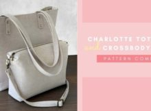 Charlotte Tote Bag and Crossbody Purse pattern combo