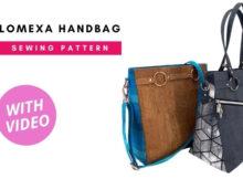 Lomexa Handbag sewing pattern (with video)