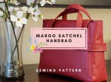 Margo Satchel Handbag sewing pattern