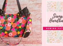 Siana Handbag sewing pattern
