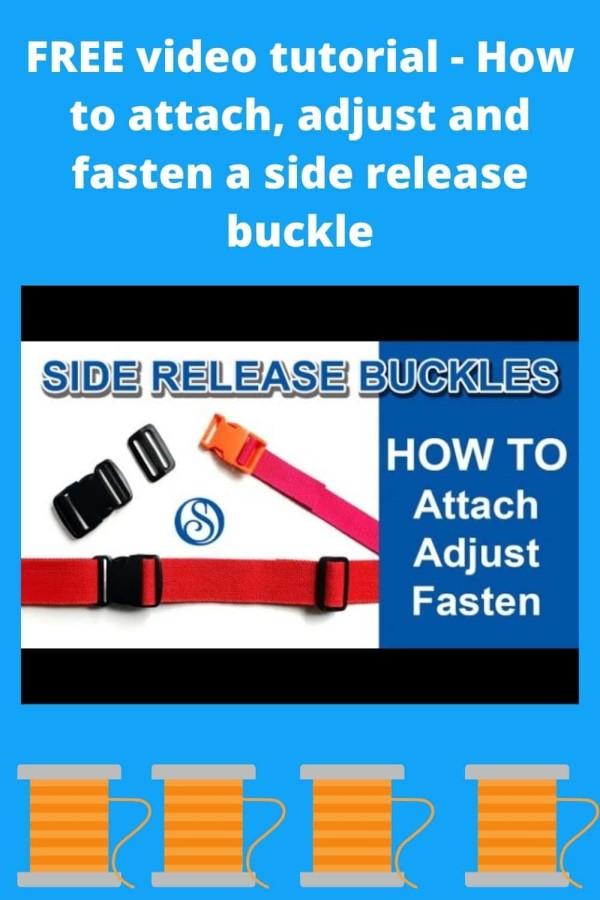 Side Release Buckle Vide
