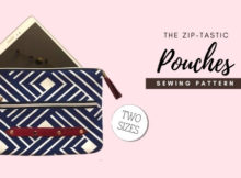 The Zip-tastic Pouches (2 sizes) sewing pattern