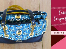 Carriers Conquest Bag sewing pattern