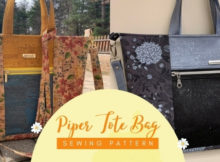 Piper Tote Bag sewing pattern