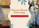 Simone Slouch Hobo Bag sewing pattern