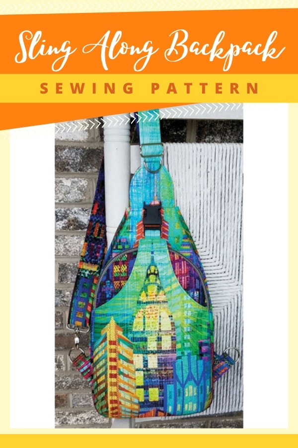 Sling Along Backpack sewing pattern