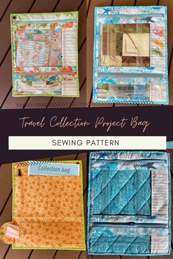 Travel Collection Project Bag sewing pattern