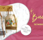 Bucket Bag sewing pattern (two sizes and video)