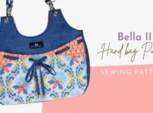 Bella II Handbag Purse sewing pattern