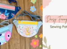 Daisy Fanny Pack sewing pattern