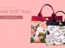Hannah Tote Bag sewing pattern
