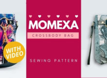 Momexa Crossbody Bag sewing pattern (with video)