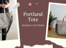 Portland Tote sewing pattern